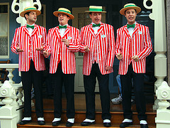 Barber Quartet : barbershop quartet